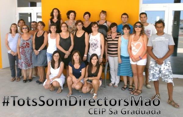 #TotsSomDirectorsMaó3Sa graduada